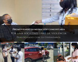 Lee más sobre el artículo Centro de Mediación Comunitaria de Bocas del Toro sigue estrechando lazos con la comunidad
