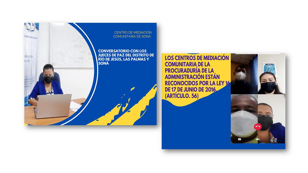 Lee más sobre el artículo Conversatorio virtual con jueces de paz de la provincia de Veraguas