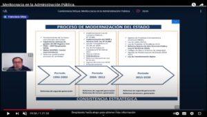 Lee más sobre el artículo Conferencia internacional sobre meritocracia en la Administración Pública desde la experiencia chilena