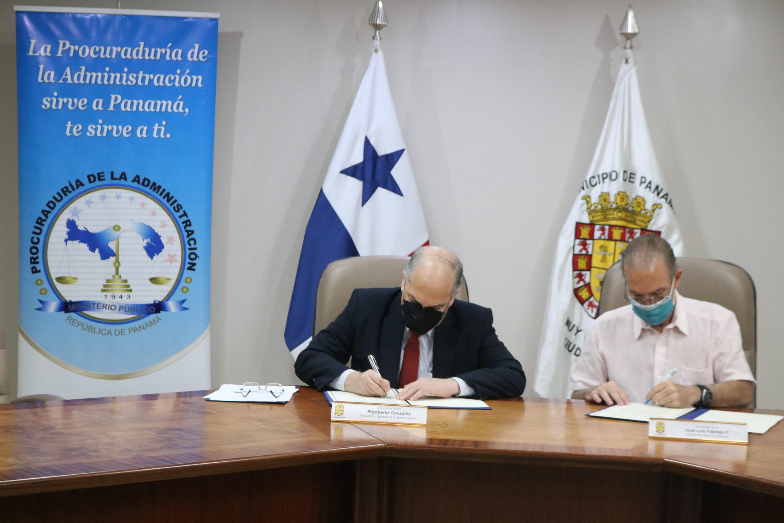 Lee más sobre el artículo Procuraduría de la Administración y Municipio de Panamá ratifican convenio para reforzar una mejor cultura de paz
